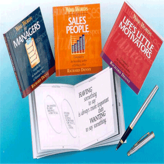 Wise Words Series of Little Books