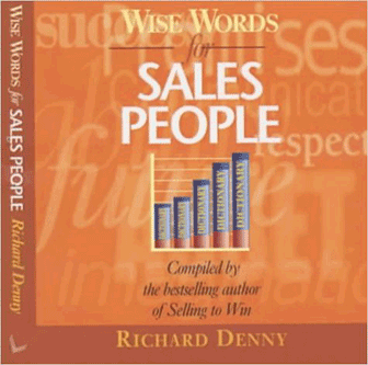 Wise Words for Sales People